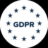 GDPR compliance badge
